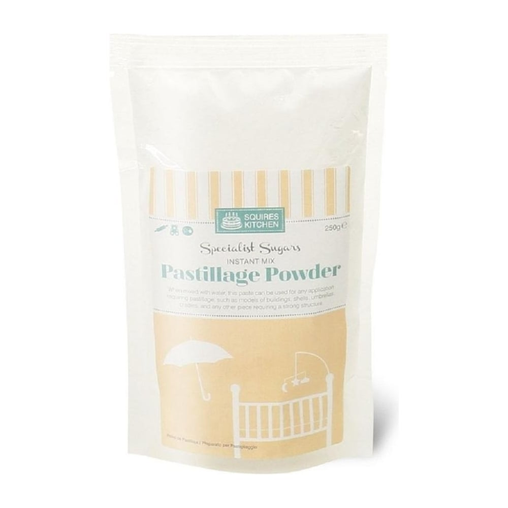 View the Pastillage instant icing powder mix white 250g online at Cake Stuff