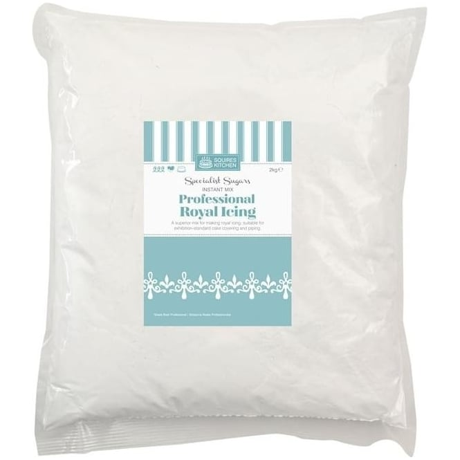 View the Royal Icing instant mix white 2kg online at Cake Stuff
