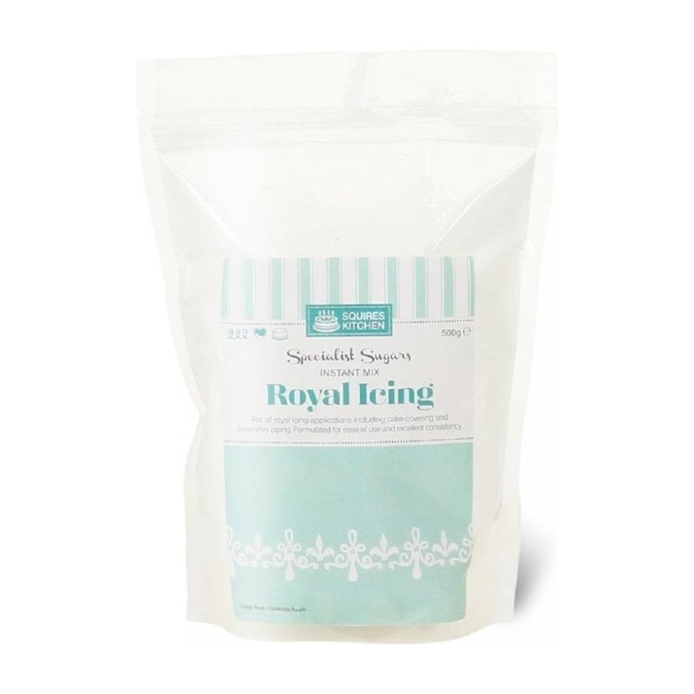 View the Royal Icing instant mix white 500g online at Cake Stuff