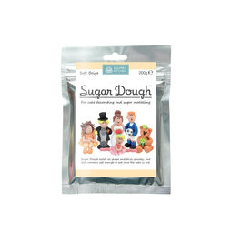 View the SOFT BEIGE / SKINTONE Sugar Dough edible modelling paste 200g online at Cake Stuff