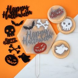 View the HALLOWEEN Elements Stamp Set online at Cake Stuff