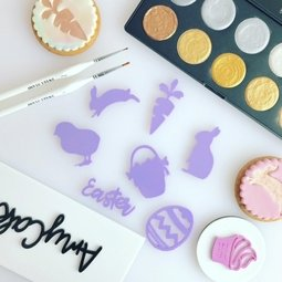 View the HOPPY BUNNY Embossing Elements online at Cake Stuff