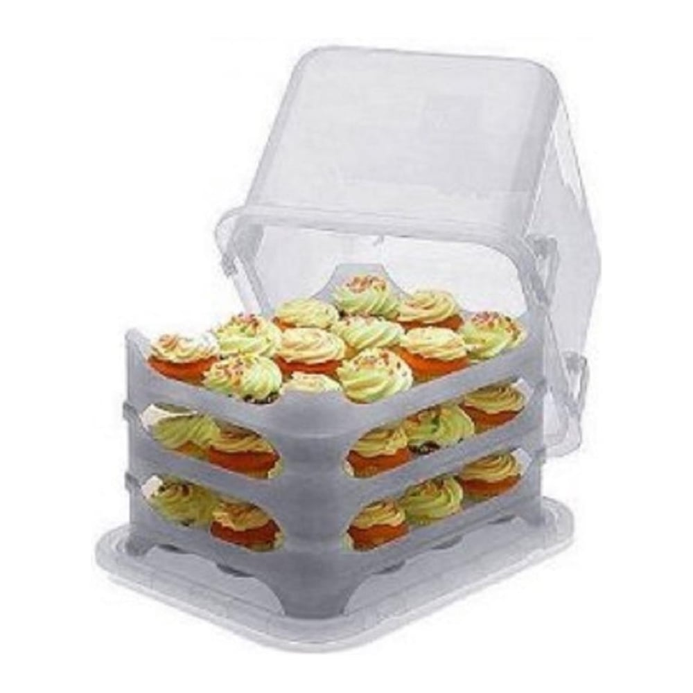 View the  - original CLEAR 36 cupcake transportation system online at Cake Stuff