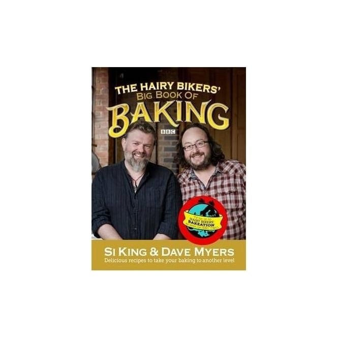 View the *CLEARANCE* The Hairy Bikers' Big Book of Baking online at Cake Stuff