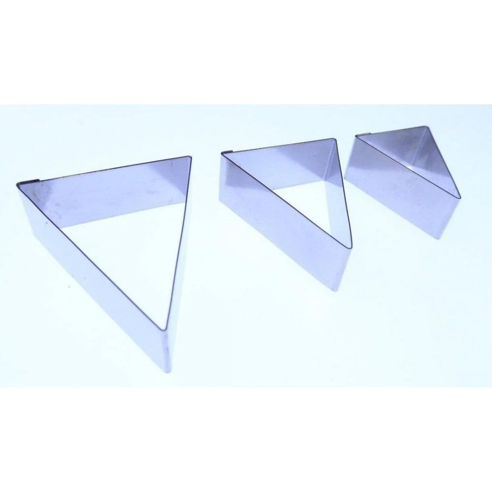View the BUNTING 3 pc stainless steel icing cutter set online at Cake Stuff