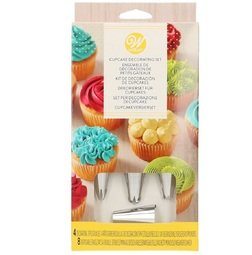 View the 12 piece cupcake piping nozzle decorating set online at Cake Stuff