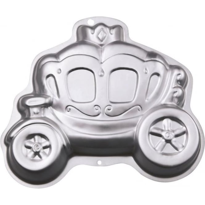 View the Princess Fairytale Carriage cake tin / pan online at Cake Stuff