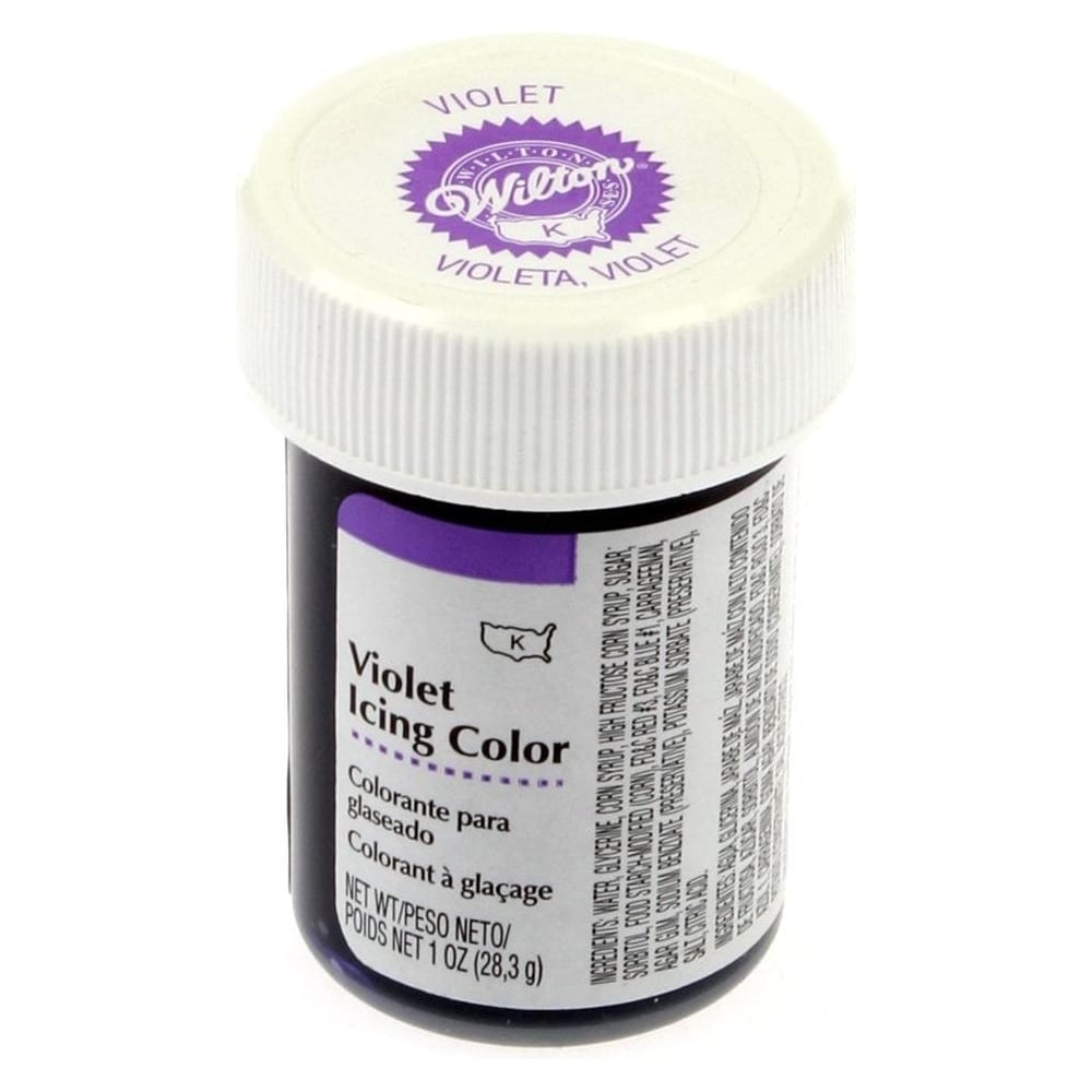View the RARE USA VIOLET / LILAC paste gel icing / food colouring 28g - USA online at Cake Stuff