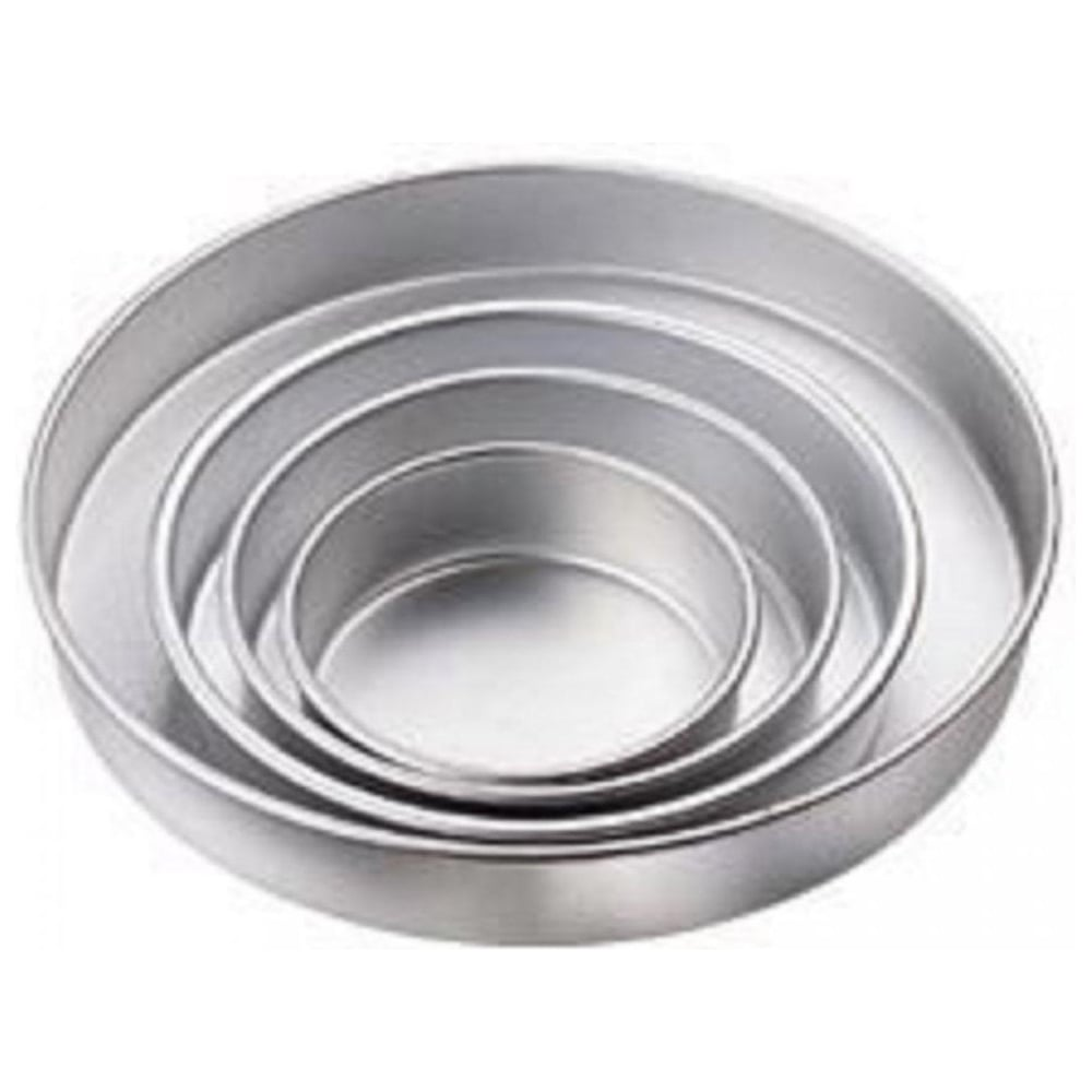 "View the set of 4: 6"" / 8"" / 10"" / 12"" - 2"" deep round Performance cake tins baking pans online at Cake Stuff"