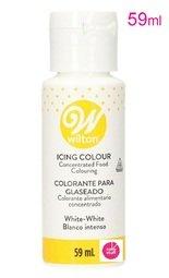 View the WHITE WHITE liquid icing buttercream whitener 59ml online at Cake Stuff