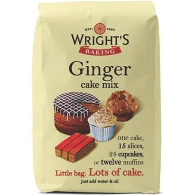 View the 500g Ginger Cake mix online at Cake Stuff