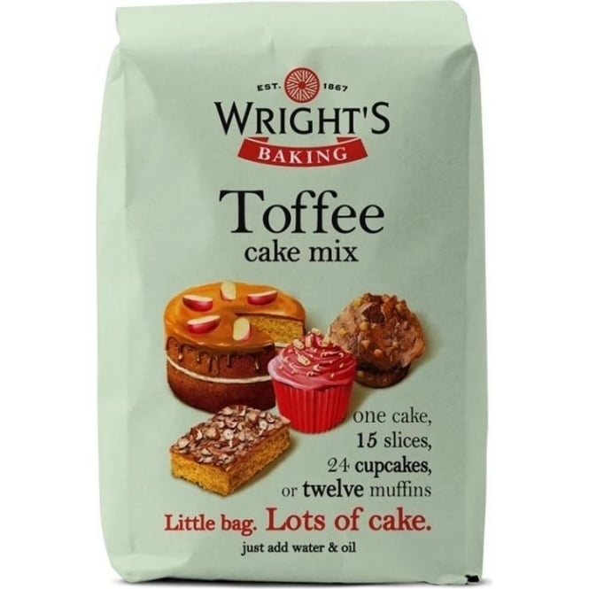 View the 500g Toffee Cake mix online at Cake Stuff
